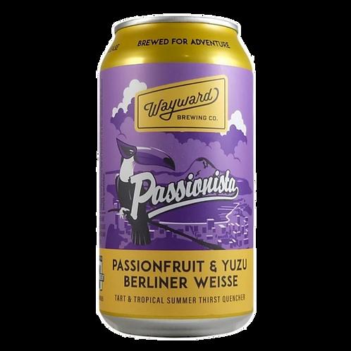 Wayward Brewing Passionista - P/fruit & Yuzu Berliner 3.8% Can 375mL