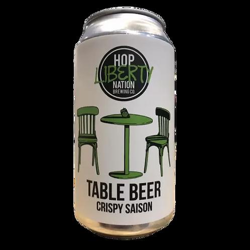 Hop Nation Table Beer Crispy Saison 4% Can 375mL