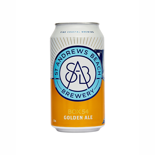 ST Andrews Beach Box 54 Golden Ale 4.6% Can 375mL