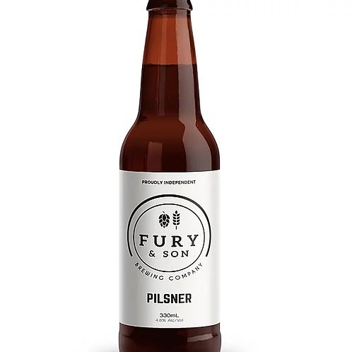 Fury & Son Brewing Pilsner 4.8% Btl 330mL
