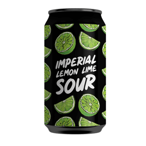 Hope Brewery Imperial Lemon Lime Sour 7% Can 375mL