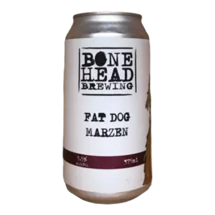 Bonehead Brewing Fat Dog Marzen 5.5% Can 375mL