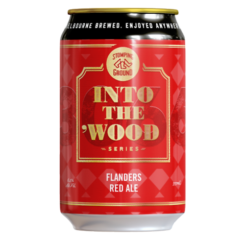 Stomping Ground Into the Wood Flanders Red Ale 6.2% Can 355mL