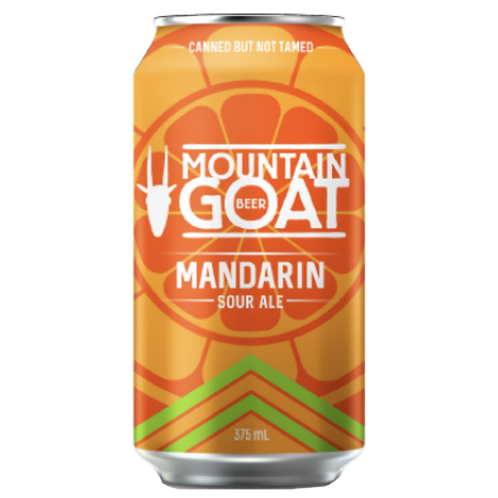 Mountain Goat Mandarin Sour Ale 3.8% Can 375mL
