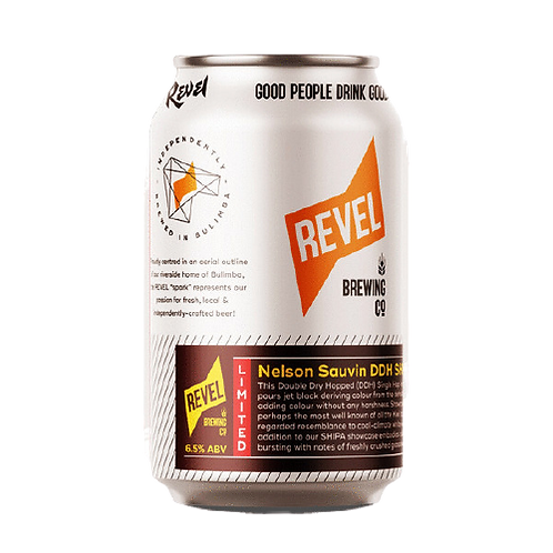 Revel Brewing Co Nelson Sauvin DDH SHIBA 6.5% Can 375mL