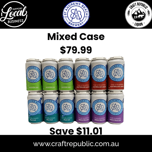 St Andrews Brewing Mixed Case