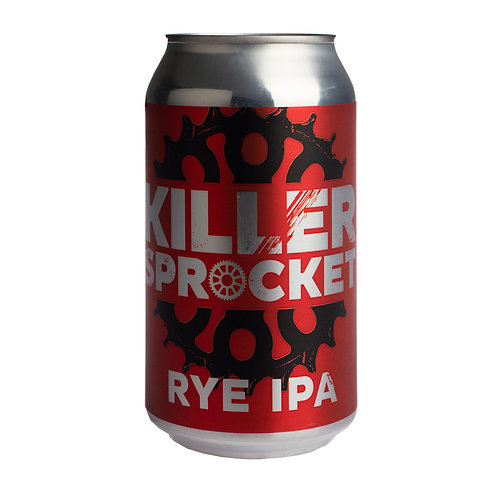 Killer Sprocket Rye IPA 6.2% Can 355mL