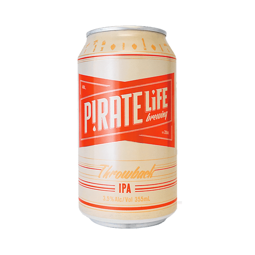 Pirate Life Throwback Session IPA 3.5% Can 355mL