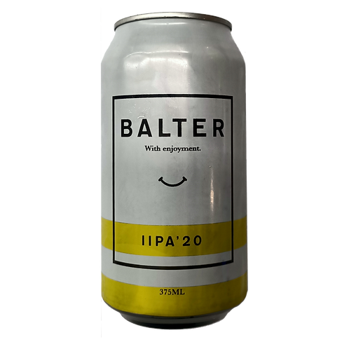 Balter Brewing Double IPA 20' 8% Can 375mL
