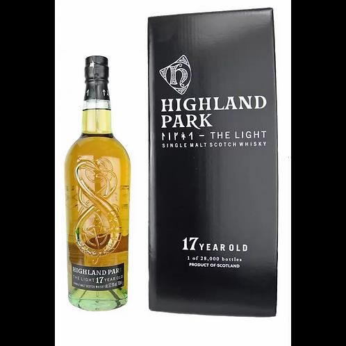 Highland Park The Light 17 Year Old Single Malt 52.9% Btl 700mL