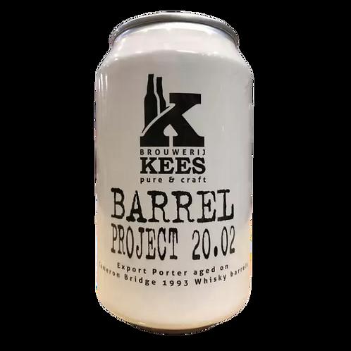 Kees Brouwerij Barrel Project 20.02 , Export Porter 10.4% Can 330mL