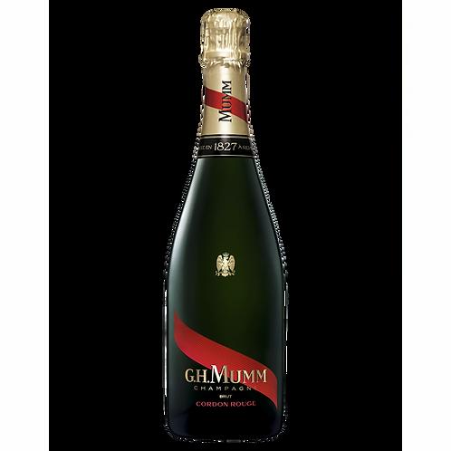 G.H. Mumm Cord Rouge NV Brut Champagne Btl 750mL