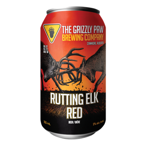 The Grizzly Paw Brewing Co Rutting Elk Red 5% Can 355mL