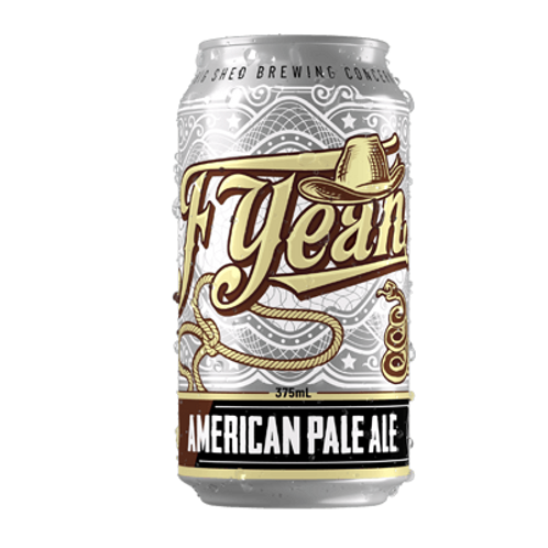 Big Shed F-Yeah American Pale Ale 5.5% Can 375mL