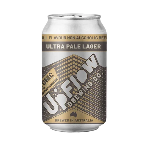 Upflow Brewing Co Ultra Pale Lager Can 375mL