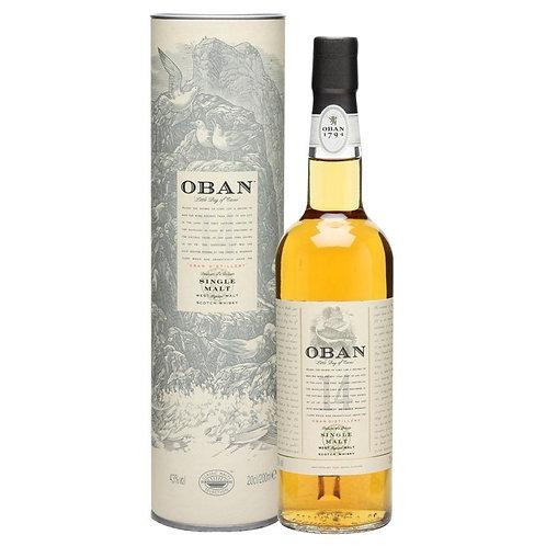 Oban 14 Year Old Single Malt Scotch Whisky Btl 700mL