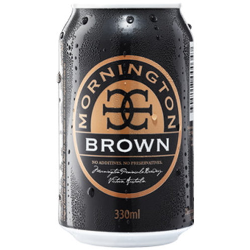 Mornington Brewing Brown Ale 5% Can 375mL
