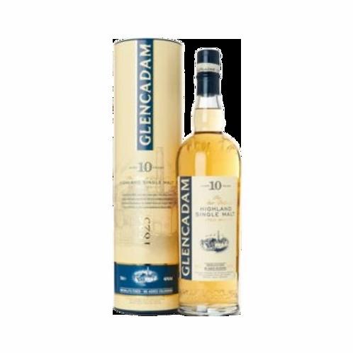 Glencadam 10 Year Old Scotch Whisky 46% 700mL
