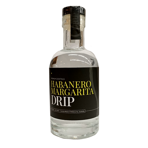 Drip Habanero Margarita Cocktail Tequila 100mL
