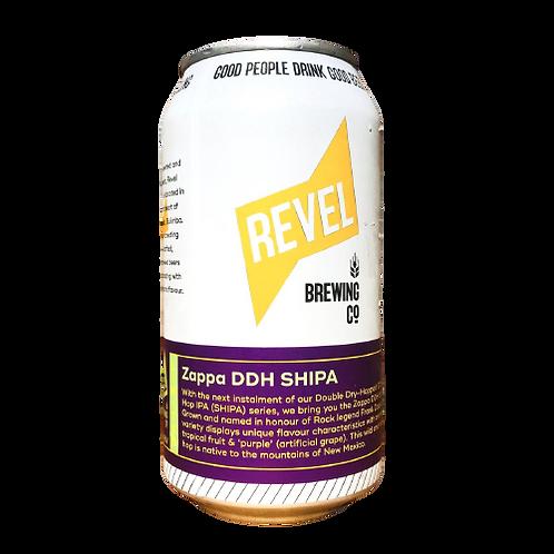 Revel Brewing Co Zappa DDH SHIPA 6.5% Can 375mL