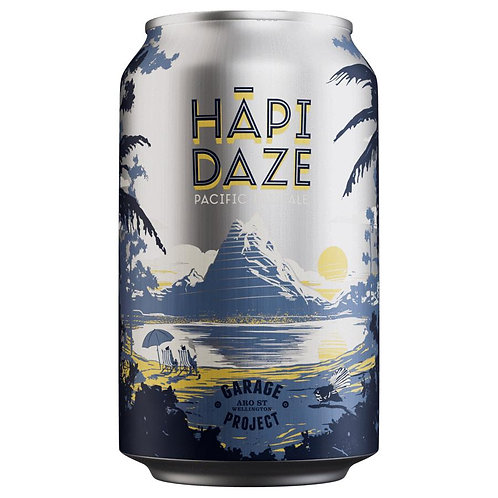 Garage Project Hapi Daze Pacific Pale Ale 4.6% Can 330mL