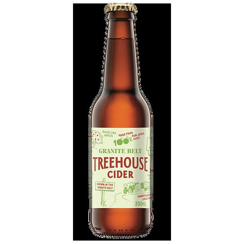 Granite Belt Treehouse Apple Cider 4.8% Btl 330mL