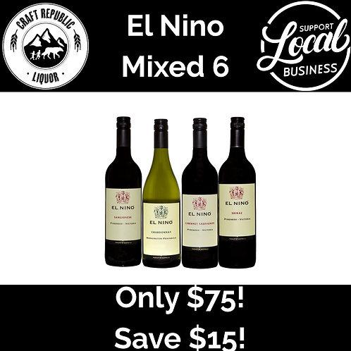 El Nino Wines Mixed 6 Pack