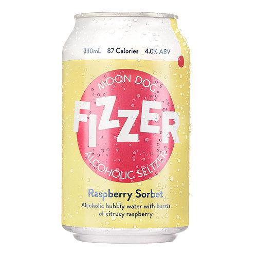 Fizzer Raspberry Sorbet Seltzer 4% 330mL