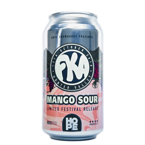 Hope Brewery Mango Sour 3.7% Can 375mL