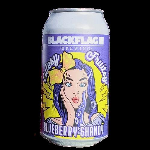 Black Flag Brewing Cutesy Fruitsy Blueberry Shandy 4% Can 375mL