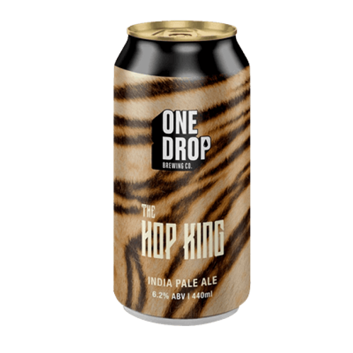 One Drop Brewing Co The Hop King IPA 6.2% Can 440mL