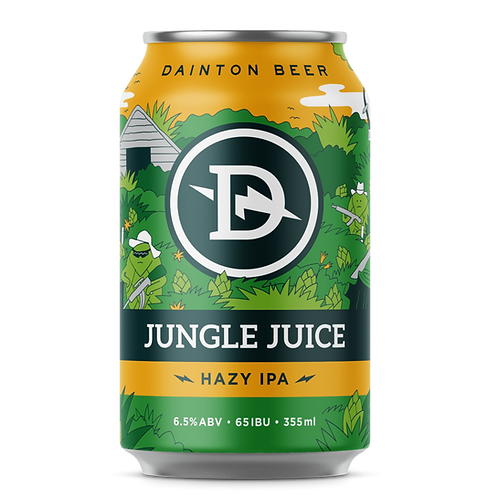 Dainton IPA Jungle Juice Hazy 6.5% Can 355mL