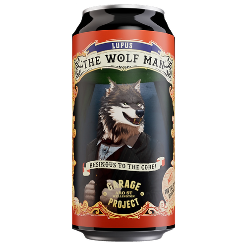 Garage Project The Wolf Man West Coast IPA 9% Can 440mL