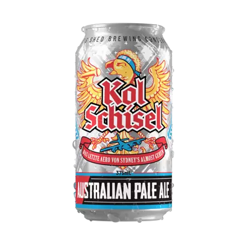 Big Shed Kol Schisel Australian Pale Ale 4.3% Can 375mL
