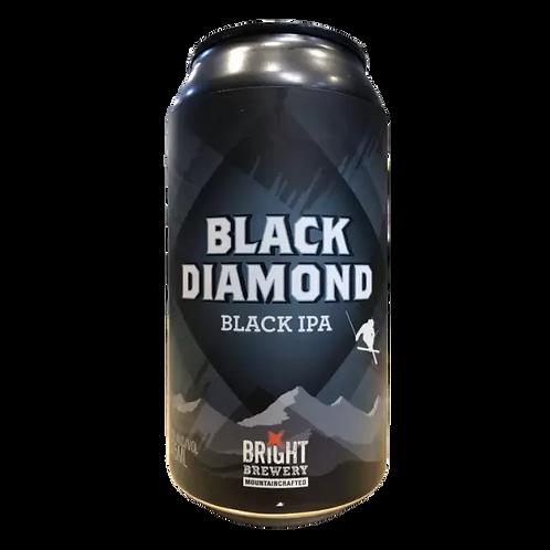 Bright Brewery Black Diamond Black IPA 6% Can 375mL