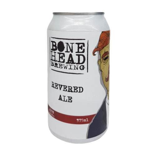 Bonehead Brewing Revered Ale 4.7% Can 375mL