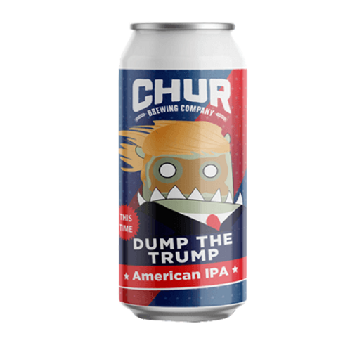 Chur Brewing Co Dump the Trump American IPA 7.2% Can 440mL