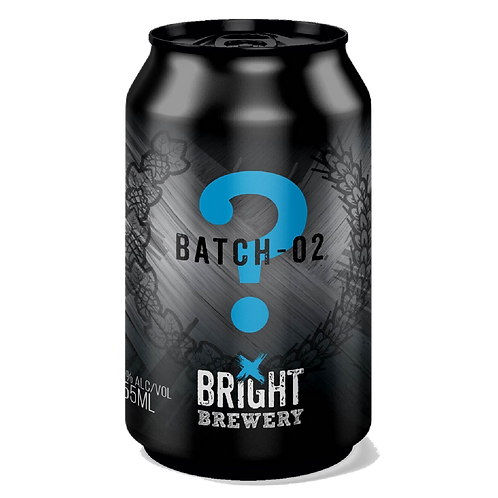 Bright Brewery Batch # 2 Mystery Beer 5.9% Can 355mL