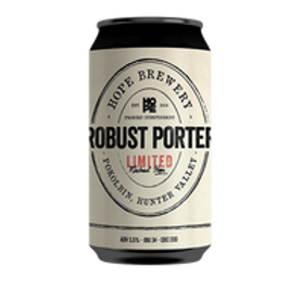 Hope Brewery Limited Robust Porter 5.5% Can 375mL