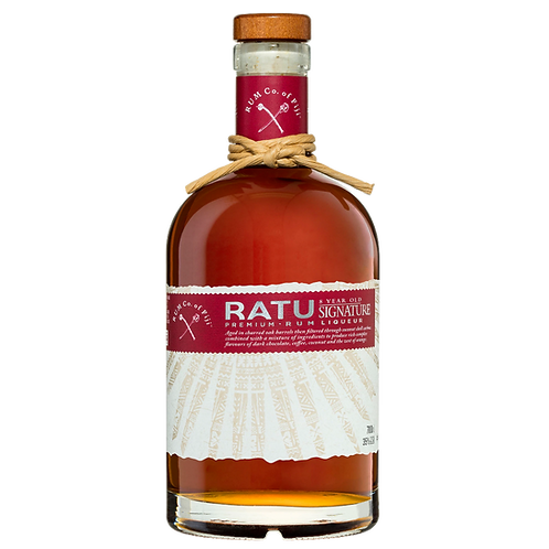 Ratu Signature Blend 8 Year Old Liqueur Rum 35% Btl 700mL