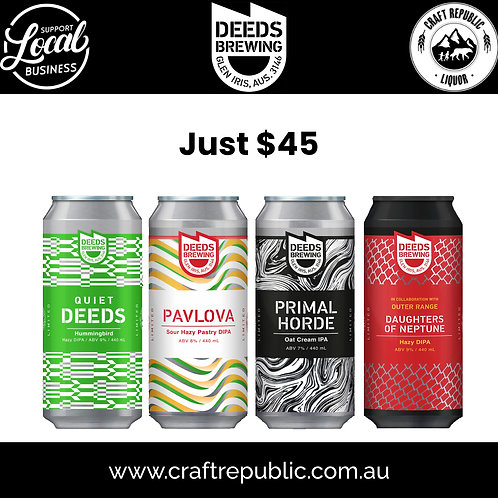 Deeds Brewing What a Treat Special 4 Pack 440mL