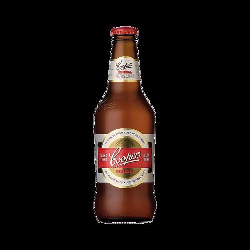 Coopers Birell Ultra Light Beer (Less than 0.5% ) Btl 375mL