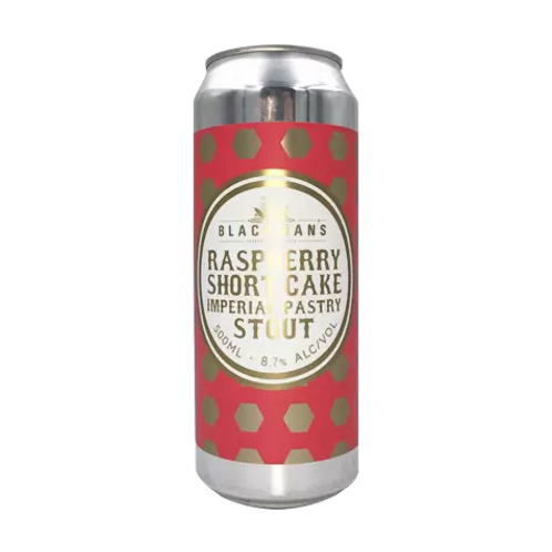 Blackmans Raspberry Shortcake Imperial Pastry Stout 8.7% Can 440mL