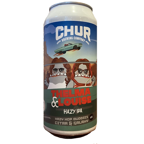 Chur Brewing Co Thelma & Louise Hazy IPA 6.4% Can 440mL