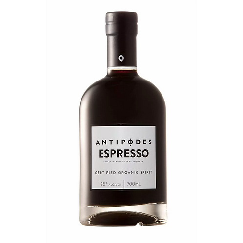 Antipodes Certified Organic Espresso Coffee Liqueur 25% Btl 700mL