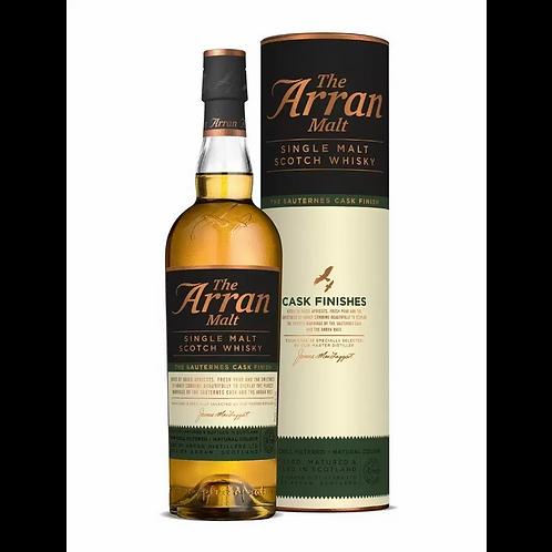 The Arran Sauternes Finish Cask Single Malt Scotch 50% Btl 700mL