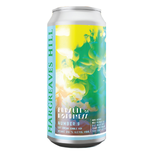 Hargreaves Hill Pursuit of Hoppiness #9Oat Cream Mosaic IPA 7% Can 440mL