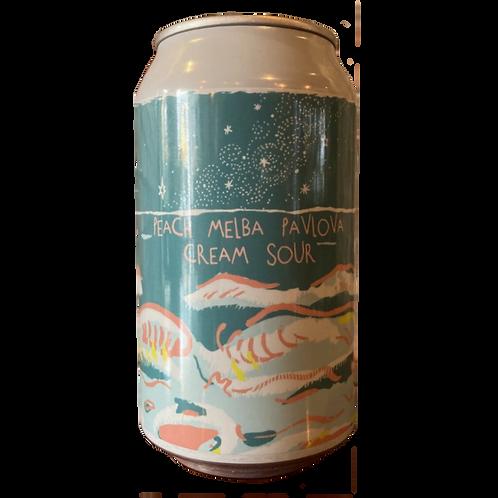 Sailors Grave Sour Peach Melba Cream 5.2% Can 355mL