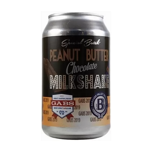 Barossa Valley Brewing Co Peanut Butter Chocolate Milkshake 6.5% Can 330mL