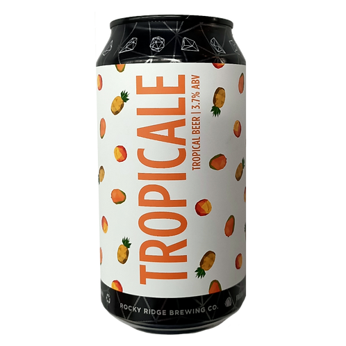 Rocky Ridge Tropicale - Tropical Beer 3.7% Can 375mL